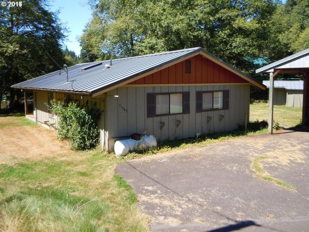71589 Fishhawk Rd, Birkenfeld, OR 97016