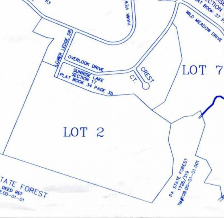 Lower Ledge (lot 2) Dr, Milford, PA 18337