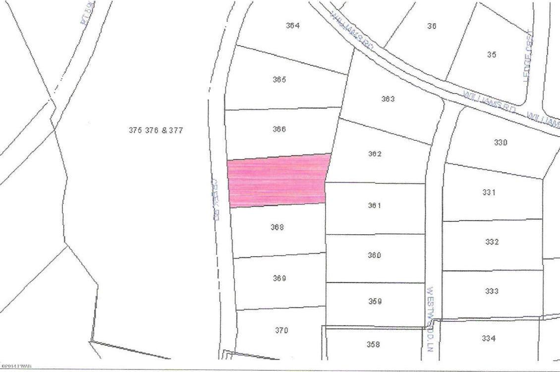 Lot 367 Creek Rd, Hawley, PA 18428