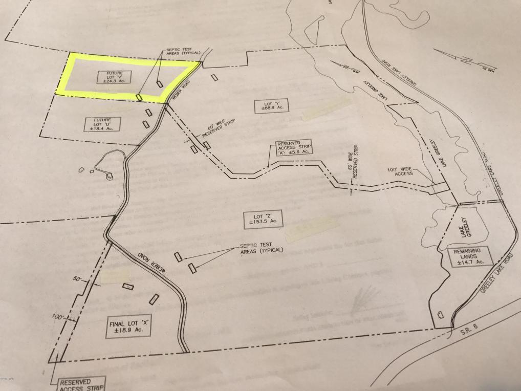 Lot V Greeley Lake Rd, Greeley, PA 18425