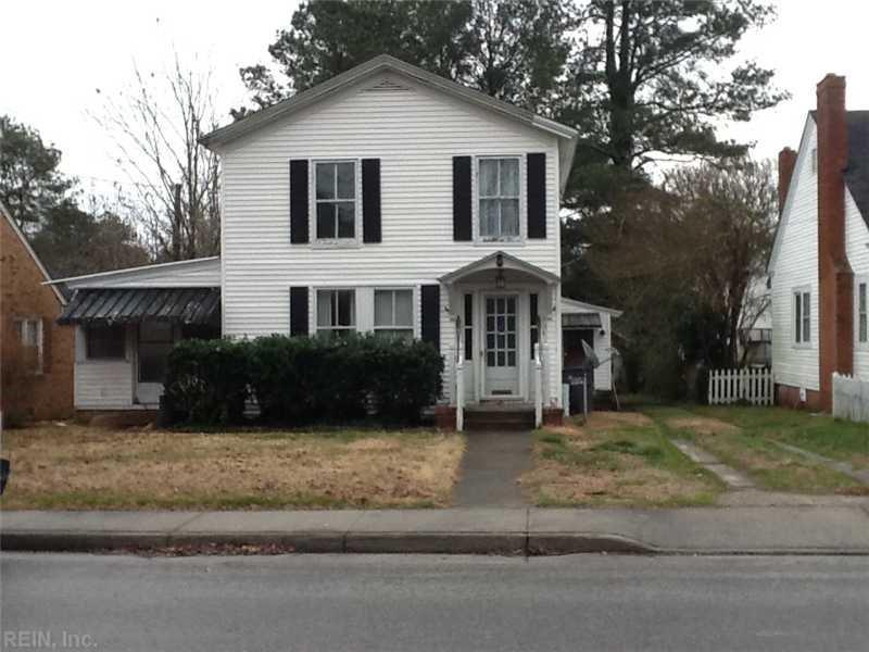201 Wilson Avenue, Wakefield, VA 23888