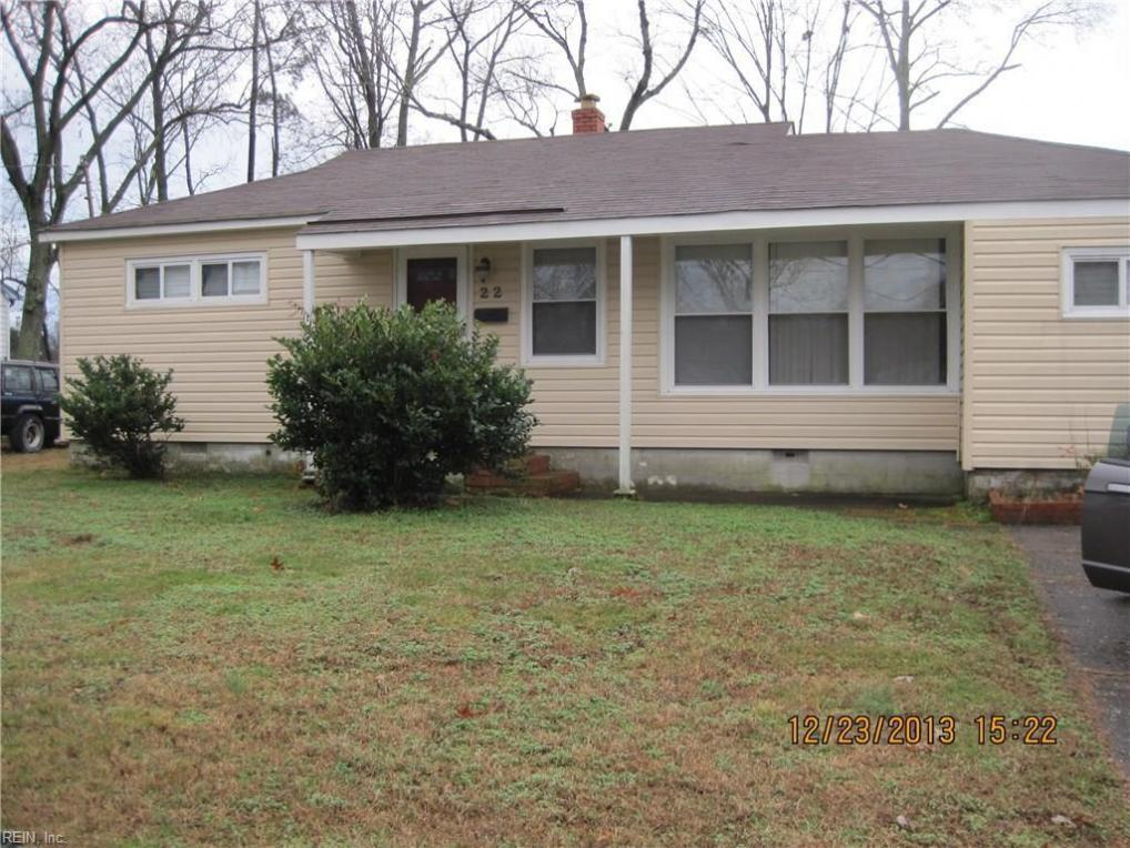 22 Sinton Road, Newport News, VA 23601