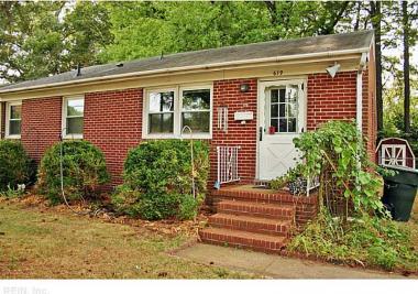619 Redheart Drive, Hampton, VA 23666