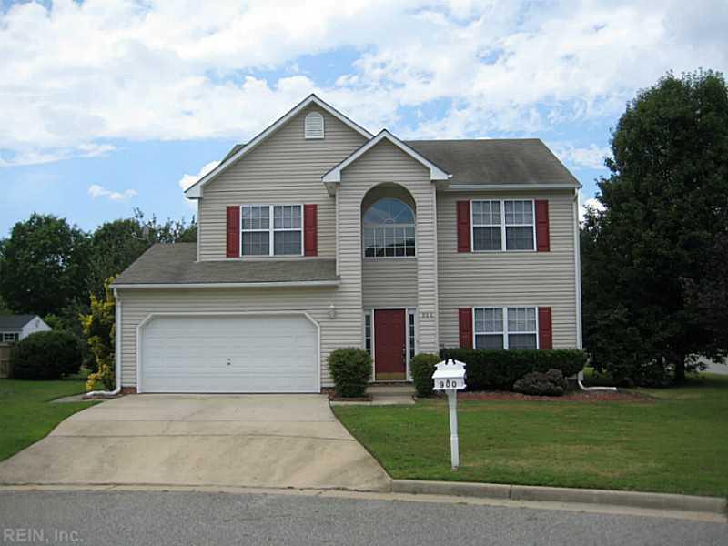 900 Cedar Glen Court, Newport News, VA 23602