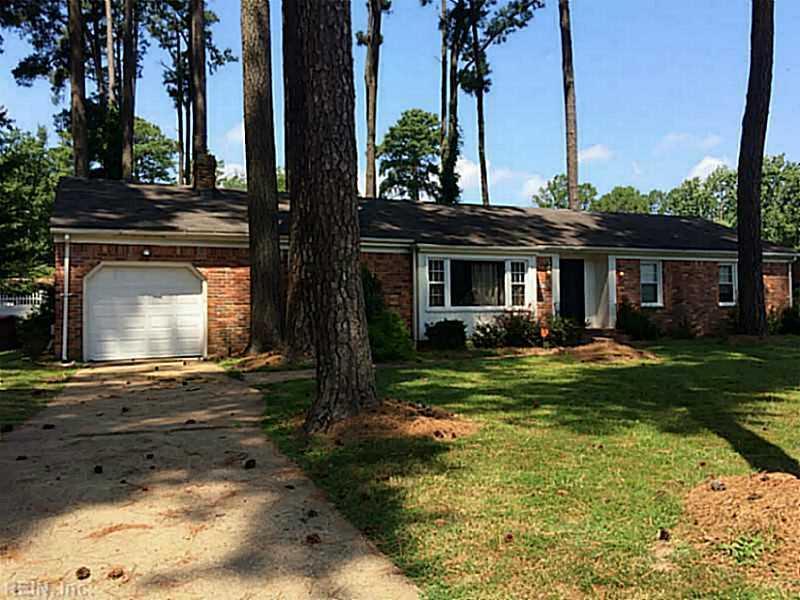 2840 Meadow Wood Drive E, Chesapeake, VA 23321