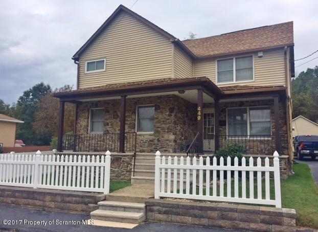 449 Bodnick St, Peckville, PA 18452