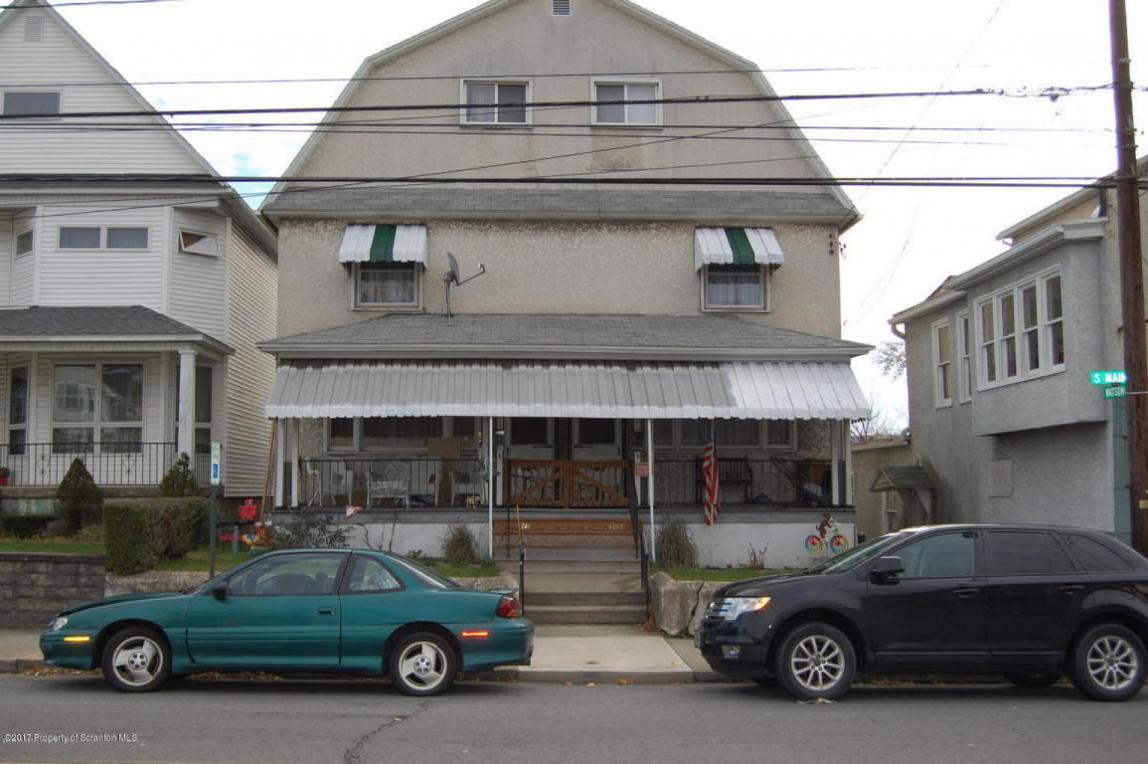1241-1243 N Main Ave, Taylor, PA 18517