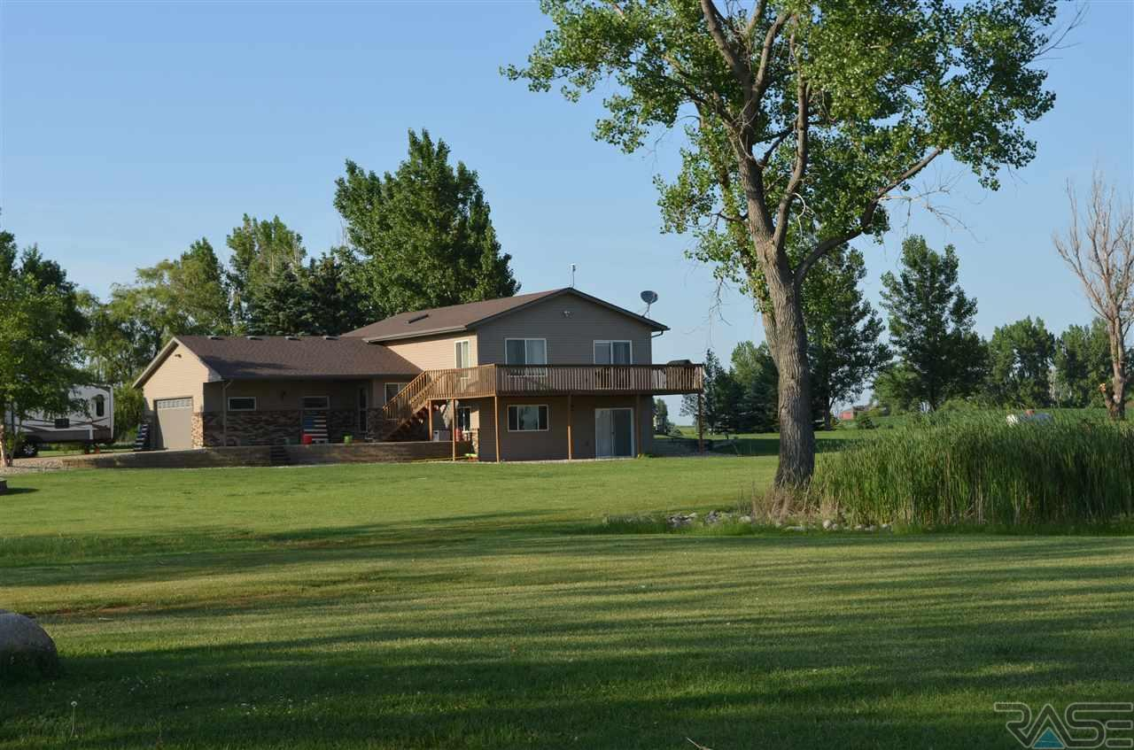 Amazing home, with a pond!  Near Sioux Falls, listed by EXIT Realty Sioux Empire.