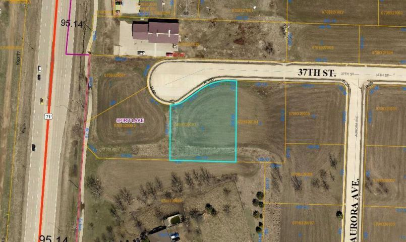 00 37th Street #Lot #3, Spirit Lake, IA 51360