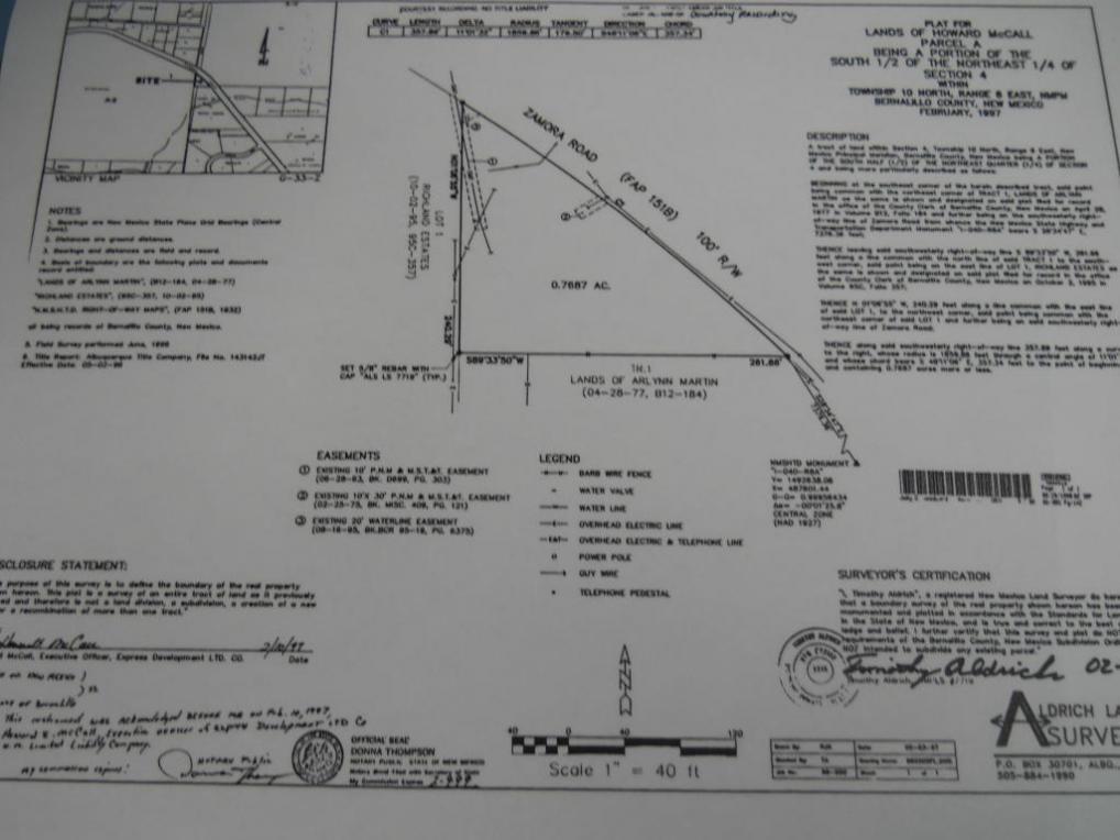Sedillo Hill Road, Tijeras, NM 87059