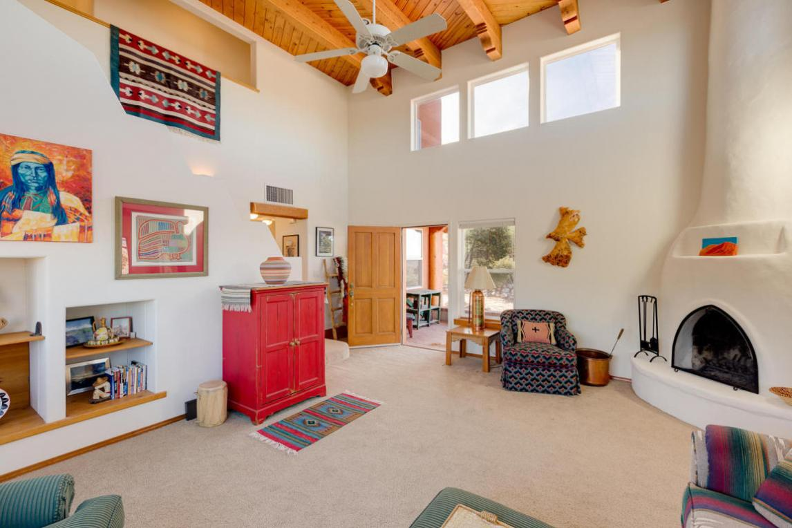 45 Tejon Canon Road, Placitas, NM 87043