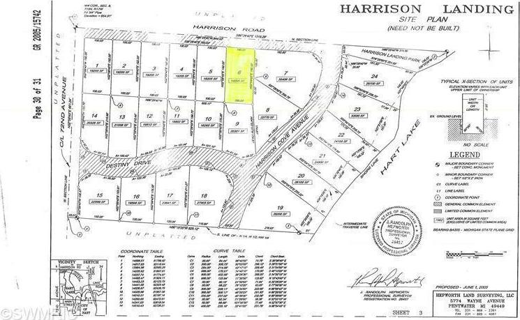 6 Site Harrison Road, Hart, MI 49420
