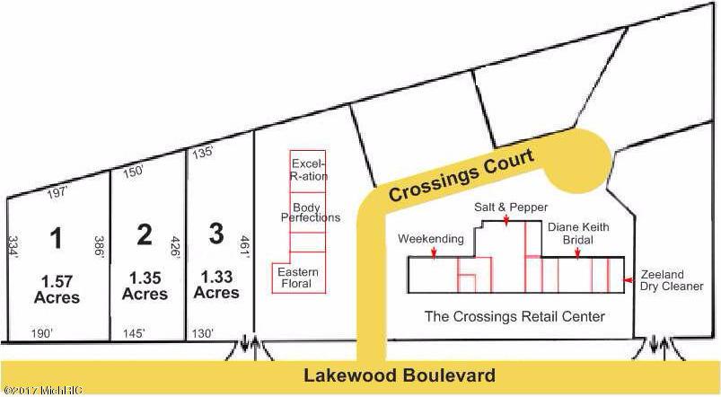 11501 3 lots E Lakewood Boulevard, Holland, MI 49424