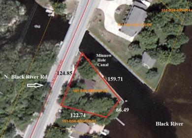 106 N Black River Road, Onaway, MI 49765
